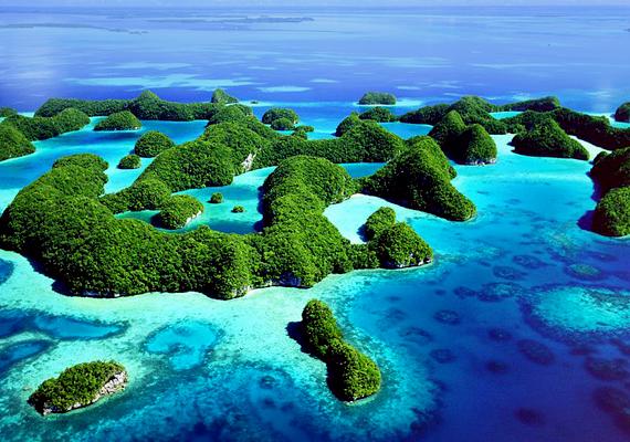 Palaun a déli lagúna sziklaszigeteinek összessége, 445 lakatlan, vulkanikus alapra képződött mészkőszigetet foglal magába.