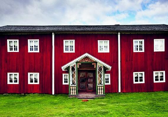 A svéd Halsinglandben található díszített parasztházak a helyi faházépítés egészen a középkorig visszanyúló hagyományainak legjavát képviselik.