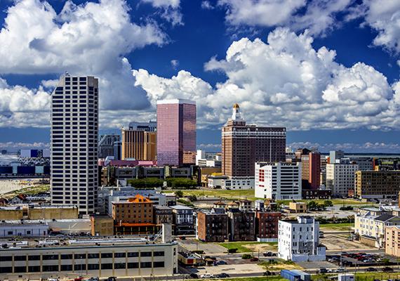 A lista második helyén az amerikai, New Jersey-i Atlantic City áll.