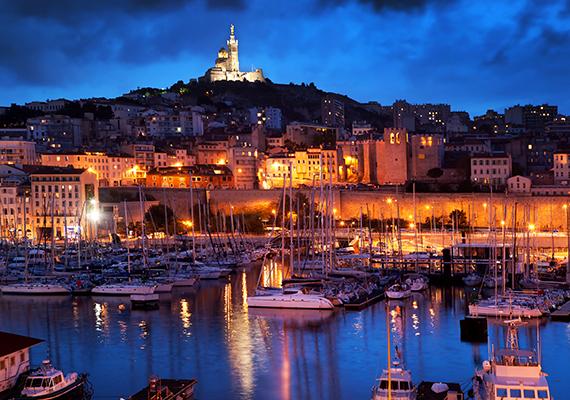 A negyedik helyen a franciaországi Marseille áll.