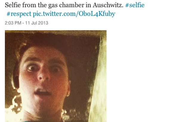 Vannak, akik ennyit értenek csak meg az auschwitzi gázkamrákról.