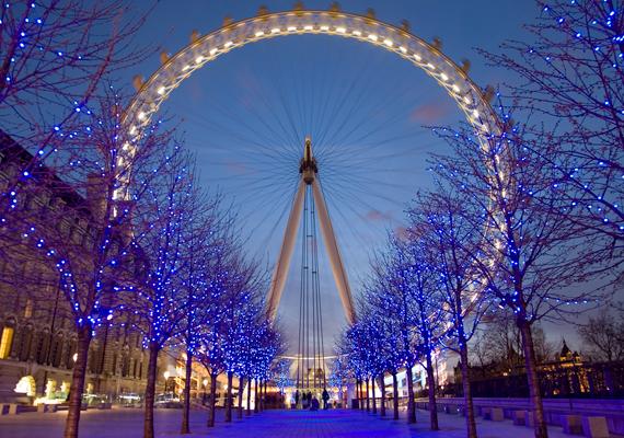 London sem tündökölhetne szebben. A nagy felbontású képért kattints ide!
