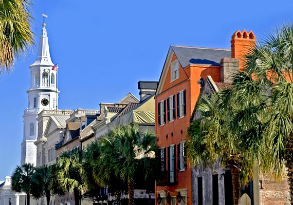 Ötödik helyen végzett az amerikai egyesült államokbeli, dél-karolinai Charleston, mely az olvasók szerint finom ételekkel, kedves emberekkel és gazdag történelemmel büszkélkedhet.