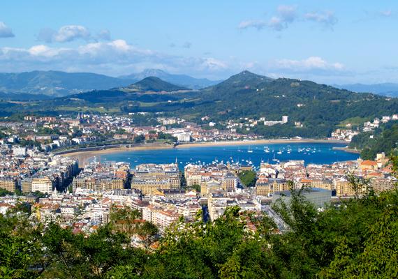 A hatodik helyen a spanyol San Sebastian szerepel, többek között gasztronómiai hagyományai és csodás tengerpartja miatt.