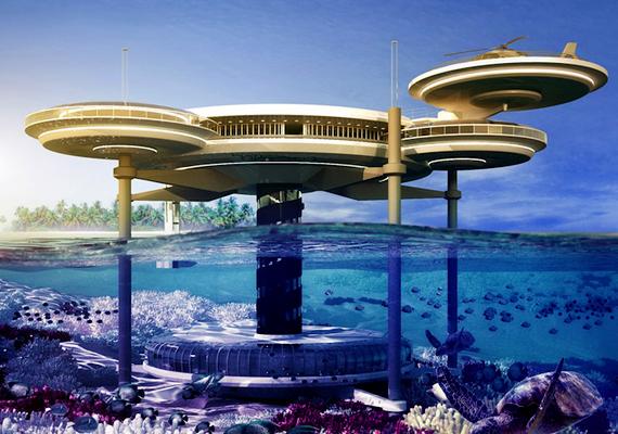 A hotel 21 kétszemélyes szobát foglalna magában, melyek a tengerszint alatt tíz méterrel helyezkednének el.