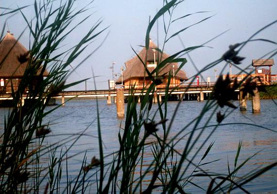 A Fertő-tavi vízitelep Fertőrákos egyik kiemelt nevezetessége, a cölöpökre épített nádfedeles házak felejthetetlen látványt nyújtanak.