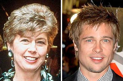 Jane és Brad Pitt
