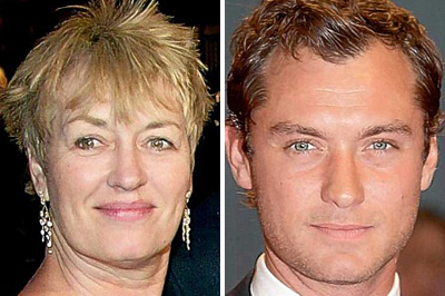 Mary Lee és Jude Law