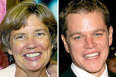 Nancy és Matt Damon
