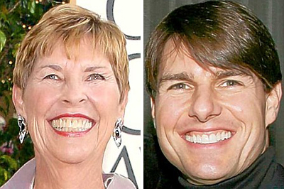 Mary Lee és Tom Cruise