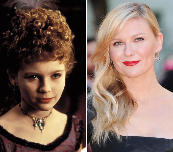 Kirsten Dunst volt az Interjú a vámpírral című Tom Cruise-os horrorban az a kislány, aki gyerektestben vált halhatatlanná. Az akkor 12 éves színésznő - akit alakításáért Golden Globe-ra is jelöltek - azóta keresett név lett a szakmában. Olyan ismert filmekben szerepelt, mint az Amikor a farok csóválja, a Pókember-filmek, a Marie Antoinette vagy a Melankólia, amiért Cannes-ban megkapta a legjobb női alakítás díját.