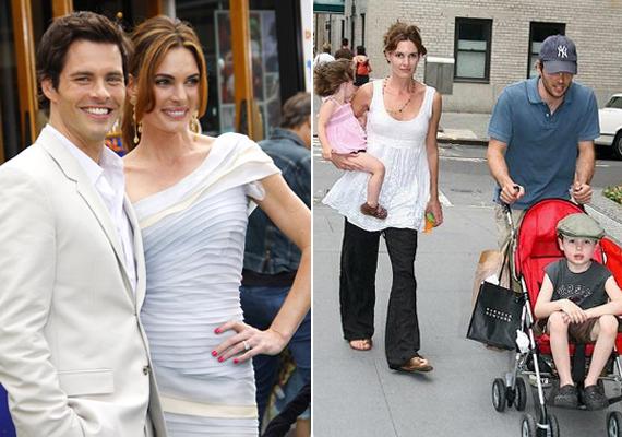 Az X-Menből ismert sármőr, James Marsden neje, Lisa Linde októberben adta be a válókeresetet, kibékíthetetlen ellentétekre hivatkozva.