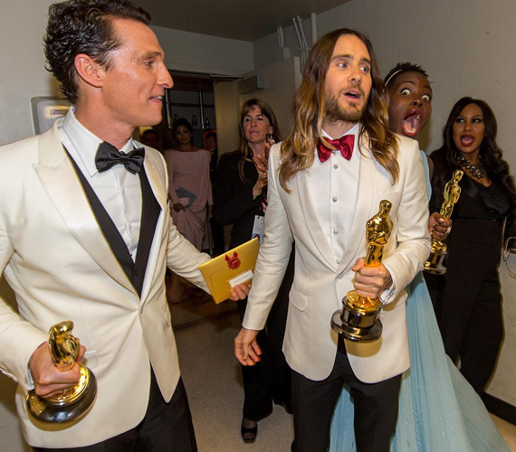 Lupita viszont hamarosan Jared Letót zavarta meg, aki akkor már megkapta az Oscar-díjat a Mielőtt meghaltam című filmben nyújtott alakításáért, csakúgy, mint szereplőtársa, Matthew McConaughey.