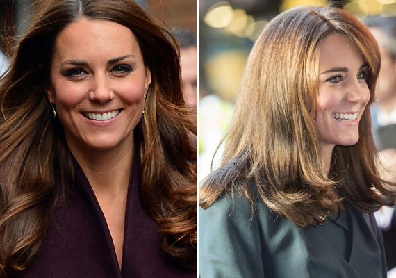 Katalin hercegné szeptemberben megszabadult klasszikus hajstílusától, amikor hosszú loknijait megkurtíttatta, és frufrut is vágatott. Most még messzebbre ment: vállig érő frizurát csináltatott.