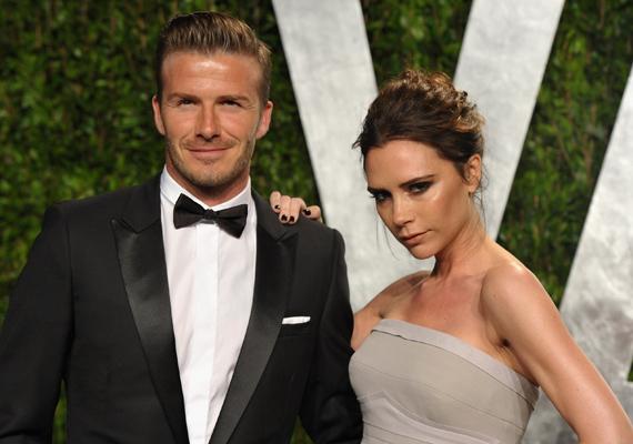 A Beckham házaspár lecsúszott az első helyről, de még így is őket találták a második legbefolyásosabb sztárpárnak.