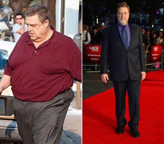 John Goodman színész hatalmas túlsúlya már az egészségét veszélyeztette, így diétázni és sportolni kezdett. Meg is lett az eredménye, ugyanis több mint kilencven kilót sikerült leadnia.