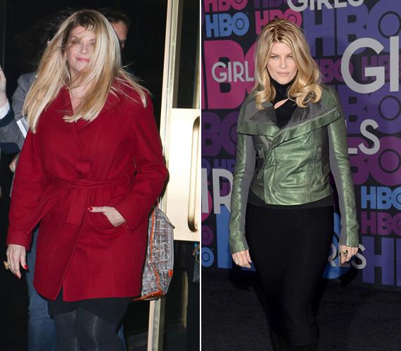 Kirstie Alley ismét jó formában van: nyolc hónap alatt körülbelül 25 kilót sikerült leadnia. Az eredményért keményen megdolgozott, így méltán lehet büszke nőies vonalaira.