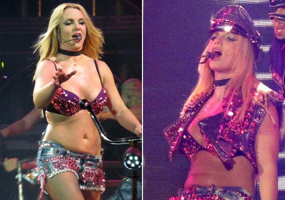 Britney Spears a londoni O2 Arenában adott koncertet a Femme Fatale nevezetű világkörüli turnéja keretén belül.