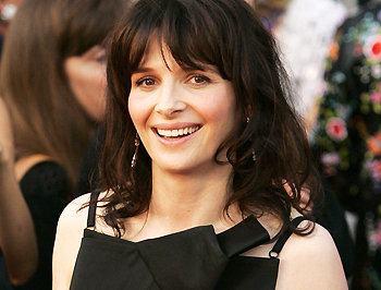 Juliette Binoche, a francia szépség