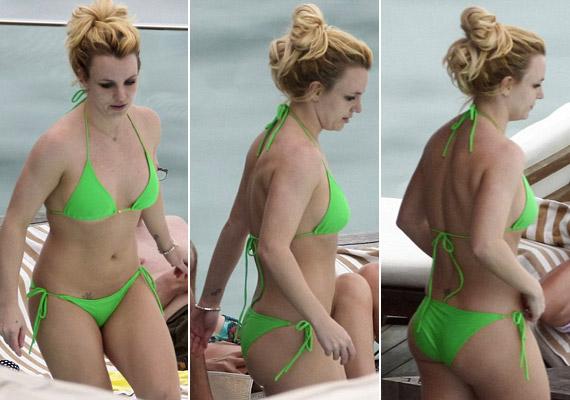 Britney Spears a Rio de Janerio strandján készült lesifotókon sokkal vékonyabbnak tűnik, mint korábbi koncertfotóin, ám arca igencsak nyúzott.
