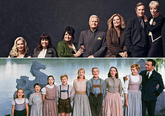 Így néznek ki a musical gyerekszínészei ma. Még 50 év elteltével is nagy, boldog családnak tűnnek.