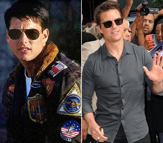 Tom Cruise kétségkívül a nyolcvanas évek ügyeletes szépfiúja volt, a Top Gunt és a Koktélt követően nem volt olyan tinimagazin, amelyben nem jelent volna meg a posztere. Bár karrierje során háromszor is jelölték Oscarra, egyszer sem kapta meg. Mindemellett hatalmas teljesítmény tőle, hogy cikiből sikerült ismét menővé válnia a 2008-as Trópusi viharnak köszönhetően, ahol felismerhetetlenné maszkírozva alakította a film egyik tenyérbemászó karakterét. Legutóbb az 53 éves színész a Mission Impossible - Titkos nemzet című filmben szerepelt.