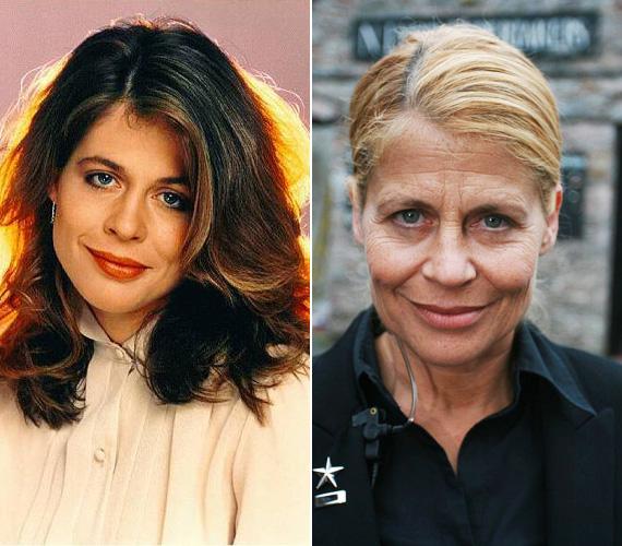 Linda Hamilton a Terminátor-filmek hősnője: az első scifit 1984-ben forgatták, de játszott a T2-ben is, amire alaposan kigyúrta magát, a harmadik részhez már csak a hangját adta. Az 58 éves sztár az utóbbi években tévéfilmekben és sorozatokban játszik, a nézők láthatták egyebek közt a Chuck és Az elveszett lány című szériákban.