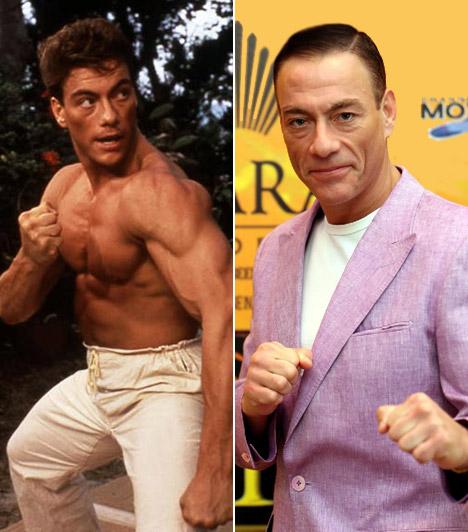 Jean-Claude Van Damme                         A belga származású sztár harcművészként kezdte, majd hamar a kamerák világába csökkent. A kidolgozott testű sztár az akciók világában mozog otthonosan, a könnyedebb filmek azonban meglehetősen távol állnak tőle.