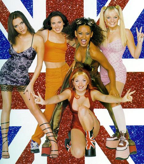 Spice Girls - 1994-2001  Talán nem sokan gondolták, hogy az öt csinos brit leányzó - Geri Halliwell, Victoria Beckham, Emma Bunton, Melanie Brown és Melanie Chisholm - által megformált banda minden idők legsikeresebb csajcsapata lesz.
