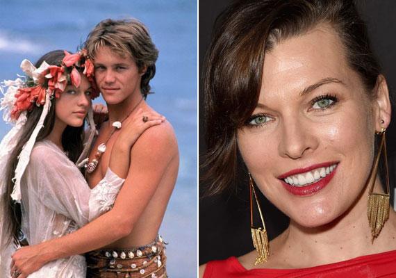 1991-ben, az első film után tíz évvel mutatták be a felújított változatot Visszatérés a kék lagúnába címmel. Ebben a fiatal hajótörötteket Milla Jovovich és Brian Krause játszották. A színésznő, akinek legismertebb filmjei közé tartozik többek között Az ötödik elem, A kaptár, A három testőr, csupán 16 éves volt, amikor eljátszotta Lilli szerepét.