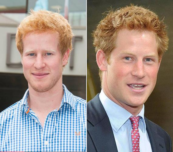 A 24 éves Matt Hicks tavaly egyszerre 12 lánnyal hitette el, hogy ő Harry herceg az I Wanna Marry Harry című valóságshow-ban. A műsorban szereplő amerikai nők tényleg azt gondolták, esélyt kaptak arra, hogy elnyerhessék egy herceg szívét. Sajnos csalódniuk kellett. Jobbra az igazi Harry látható.