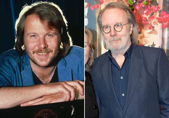 Benny Anderson felett eljártak az évek - habár frizurája és szakállfazonja még mindig olyan, mint 40 évvel ezelőtt.