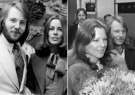Frida 17 évesen ment először férjhez, Ragnar Fredrikssontól gyermekei is születtek, 1963-ban fiuk, Hans, 1967-ben lányuk, Lise Lotte jött a világra. 1970-ben elváltak, ezután jegyezte el a képen is látható ABBA-tag, Benny, akivel 1978-ban házasodtak össze. Gyerekük nem született. A sors kegyetlensége, hogy Frida nagymamája éppen aznap halt meg, amikor kimondták a válását első férjétől.