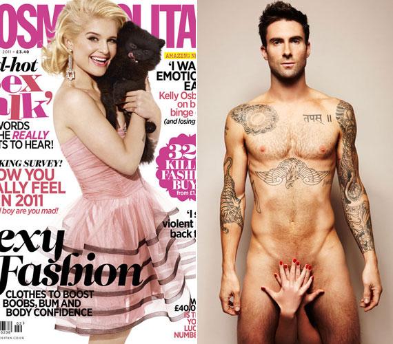 A férfiasságát eltakaró kéz egyébként barátnőjéé, Anne Vyalitsynajáé, aki a Victoria's Secret egyik modellje.