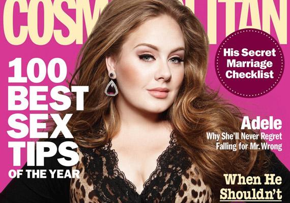 Adele az élő példa rá, hogyan lehet valaki teltkarcsún is szexi.