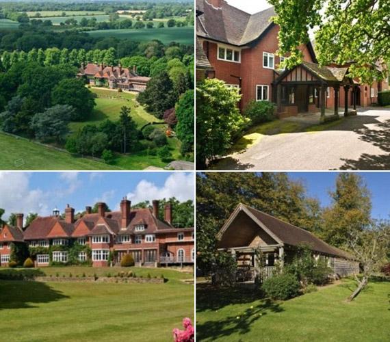 A villa az angliai Surrey megyében fekszik.