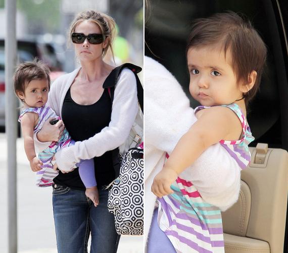 Dennis Richards 2011 májusában lett a kis Eloise édesanyja.