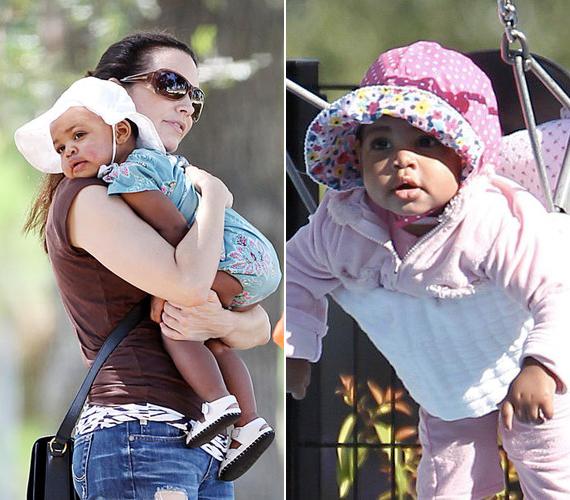 Kristin David, a Szex és New York Charlotte-ja szintén egyedülállóként fogadta örökbe gyermekét, Gemma Rose-t 2011 őszén.