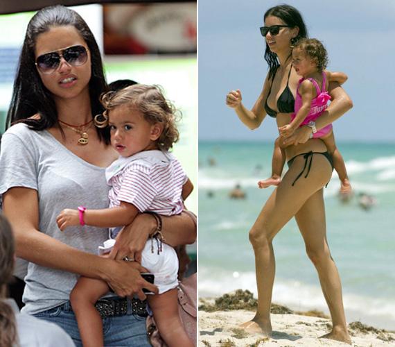 A kétéves kislány nagyon várja a kistestvért, a modell édesanya állítása szerint csókokat dobál a babapocakja felé.