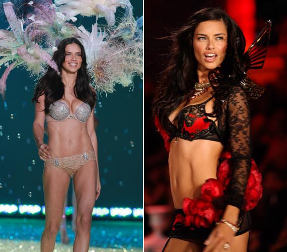 Adriana Lima 2000 óta a Victoria's Secret egyik legforróbb angyala, a 2003-as, a 2007-es, a 2008-as és 2010-es show-t is ő nyitotta.