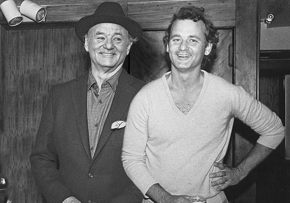 Bill Murray 1985-ben forgatta a Rémségek kicsiny boltja filmjét. Akkor 35 éves volt.