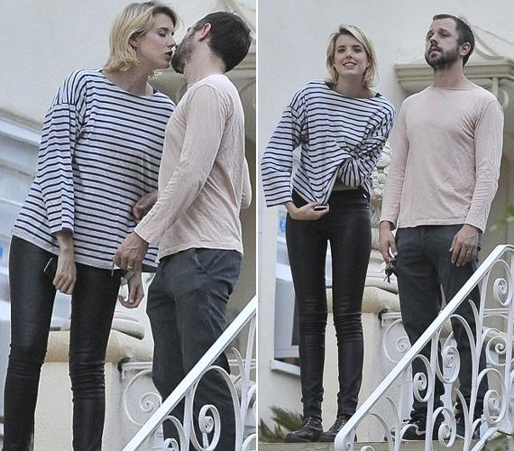 Ekkor fényképezték őket először közösen úgy, hogy mindkettejük ujján ott díszelgett a karikagyűrű.
