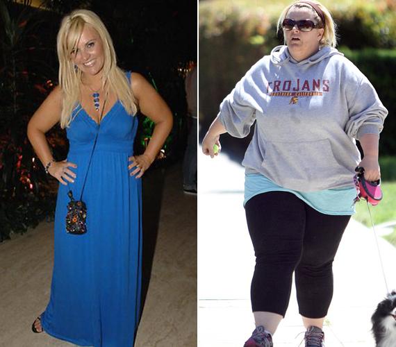 Az egykor csinos műsorvezetőre rá sem lehet ismerni, 50 kilót hízott, és további heti kettővel növeli a súlyát.