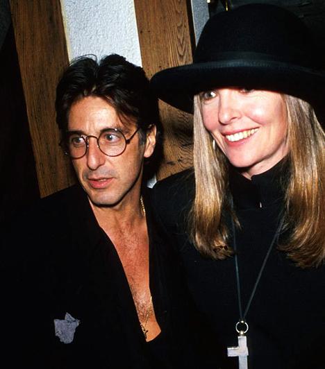Diane KeatonnalAl Pacino Diane Keatonnel a nyolcvanas évek végén. Pacinót meglehetősen rapszodikus szerelmi viszony fűzte az Oscar-díjas színésznőhöz, kapcsolatuk A Keresztapa III forgatása után ért véget.Kapcsolódó címke:Diane Keaton »
