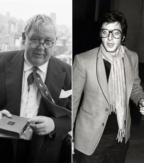 Felfigyeltek ráA legendás brit színész, Charles Laughton volt az első, aki felfigyelt a fiatal Pacino tehetségére.- Belőled sztár lesz - mondta az Oscar-díjas Laughton a 19 éves Pacinónak egy bronxi lépcsőházban.