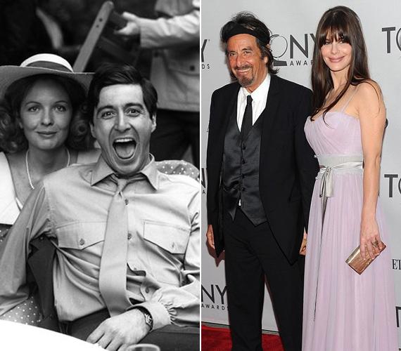 A színész korábban Diane Keatonnal is járt egy darabig, mostanában pedig a 31 éves, argentin szépség, Lucila Solá a barátnője.