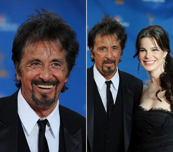 2010-ben az Emmy-díjátadón Lucila Solaval az oldalán még látványosan fiatalosabb volt a fellépése, mint két év múlva.
