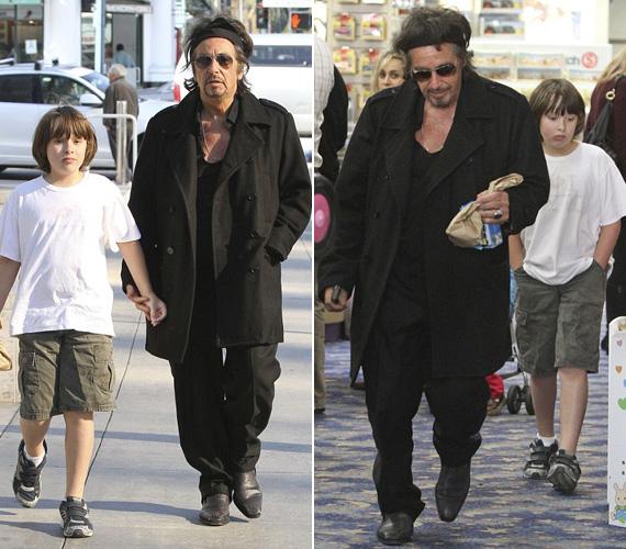 Fia mellett inkább nagypapának néz ki. Anton James és ikertestvére, Olivia Rose 2001-ben jöttek világra. Anyjukkal, Beverly D'Angelo színésznővel Al Pacino 1996 és 2001 között élt párkapcsolatban.
