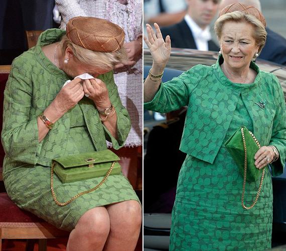Paula királyné már 1959. óta hites felesége II. Albertnek, akinek leköszönőbeszéde megríkatta az egykori olasz hercegnőt.