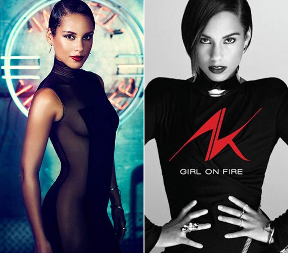 Új albumához, a Girl on Fire-höz készült fotókon is nagyon szexisen mutat.